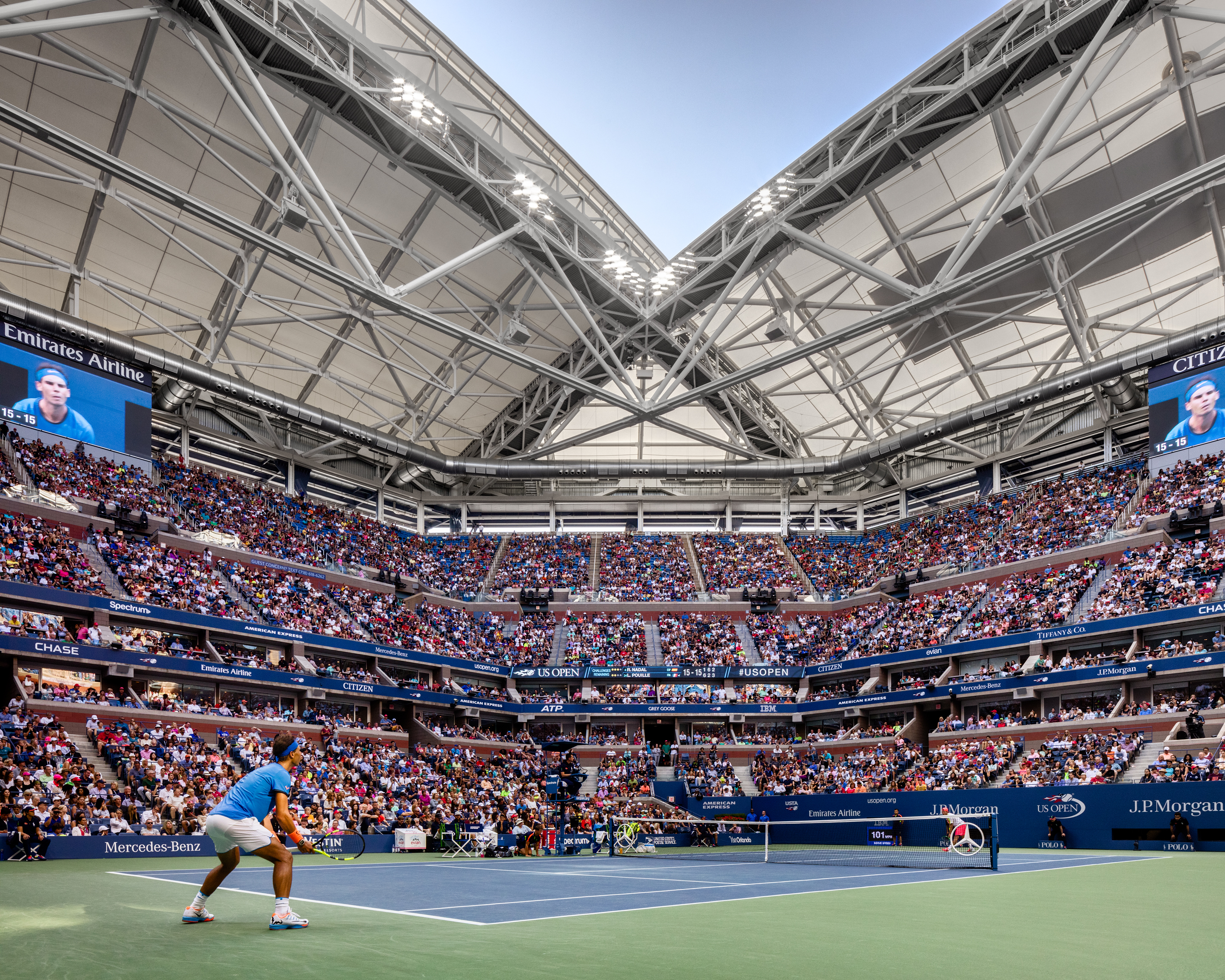 rossetti wins aia detroit award for arthur ashe stadium s